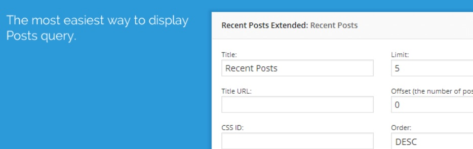 نمایش آخرین مطالب یک دسته خاص در وردپرس با افزونه Recent Posts Widget Extended