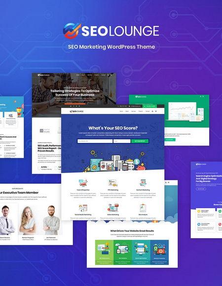 دانلود قالب بازاریابی دیجیتال SEOLounge برای وردپرس