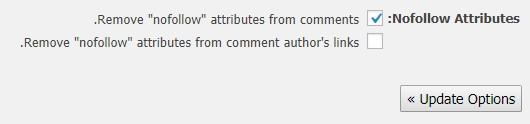 حذف NoFollow از بخش دیدگاههای وردپرس