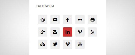 افزودن آیکون شبکه های اجتماعی در وردپرس با افزونه Simple Social Icons