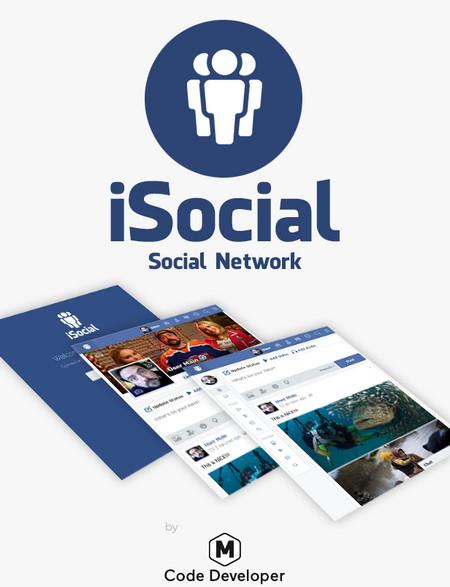 اسکریپت راه اندازی شبکه اجتماعی iSocial