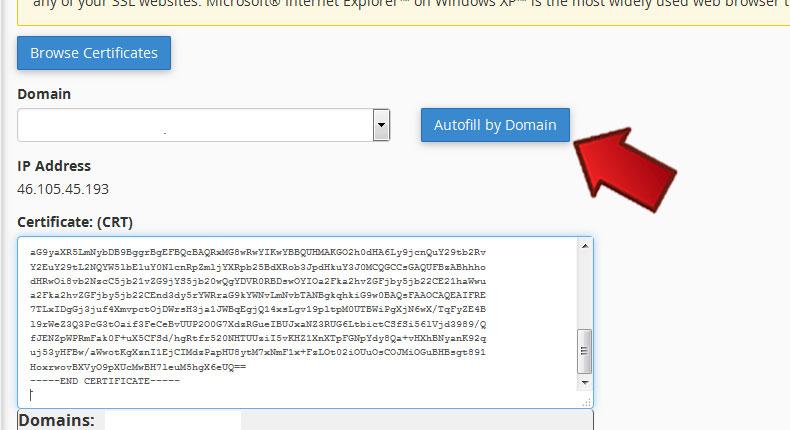 آموزش نصب SSL در Cpanel