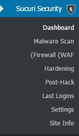 افزونه وردپرس بررسی فایل های مخرب Sucuri Security