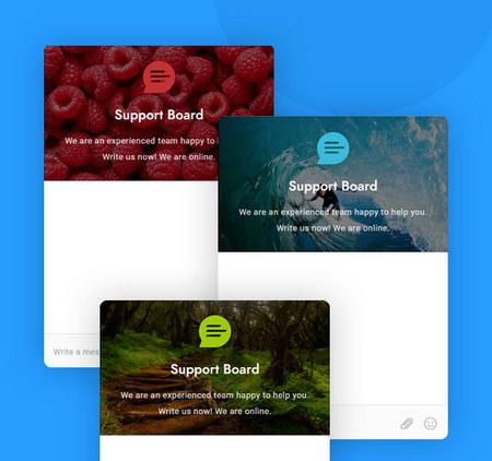 اسکریپت چت و پشتیبانی مشتریان Support Board
