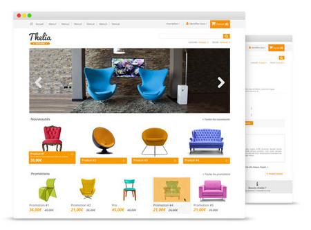 اسکریپت فروشگاه ساز و رایگان Thelia 2.0.4