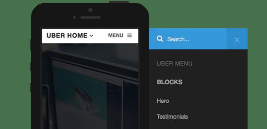 دانلود قالب شرکتی و تجاری Uber برای جوملا
