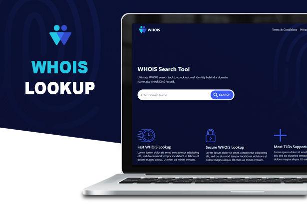 اسکریپت جستجو و بررسی دامنه Whois Lookup