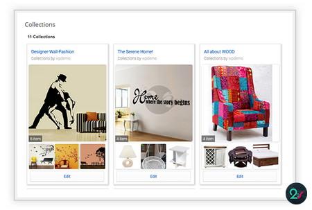 افزونه ایجاد مجموعه محصولات مورد علاقه در ووکامرس WooCommerce Collections