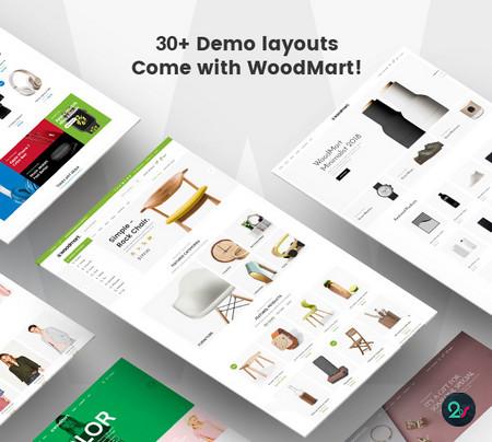 دانلود قالب فروشگاهی WoodMart برای وردپرس