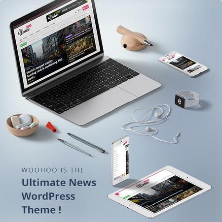 دانلود قالب مجله خبری Woohoo برای وردپرس