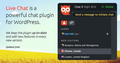 افزونه چت و پشتیبانی آنلاین برای وردپرس Live Chat Unlimited نسخه 2.3.0
