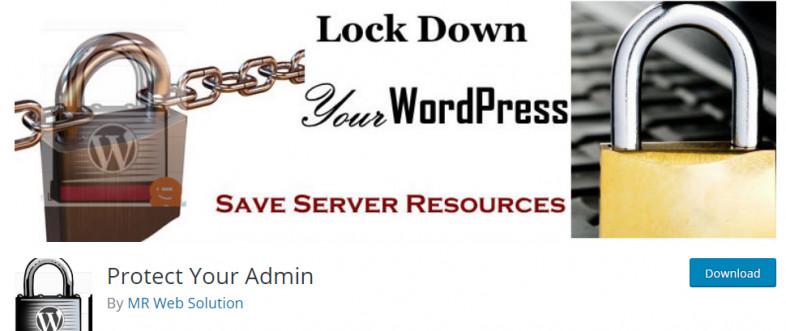 تغییر آدرس مدیریت وردپرس wp admin با افزونه Protect Wp Admin