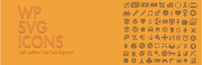 استفاده از آیکون های SVG در وردپرس با افزونه WP SVG icons
